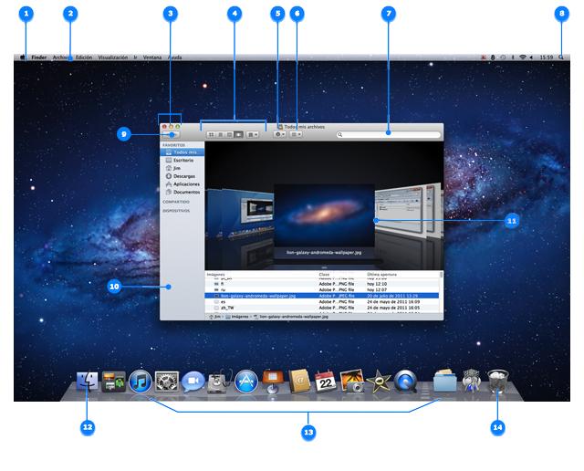 Aspectos b sicos del cambio a mac c mo pasar de windows for Escritorio ergonomico caracteristicas