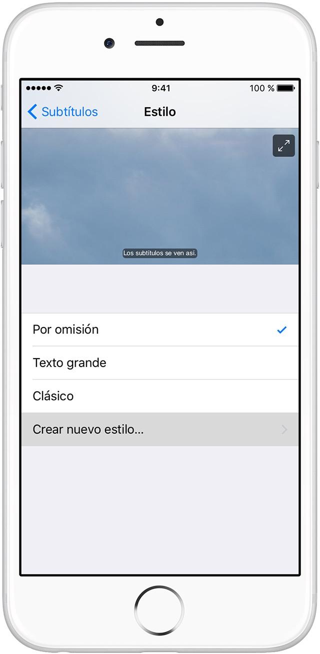 Activar los subtítulos opcionales y los subtítulos en el iPhone ...