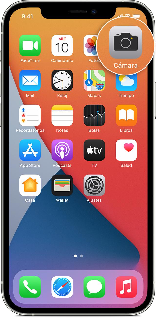 Tomar y editar fotos con el iPhone, el iPad y el iPod touch - Soporte  técnico de Apple (ES)