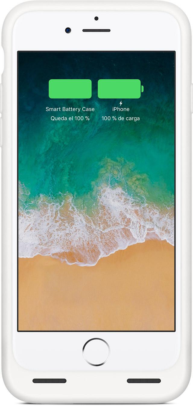 Carga el iPhone con la funda Smart Battery Case - Soporte técnico de ...
