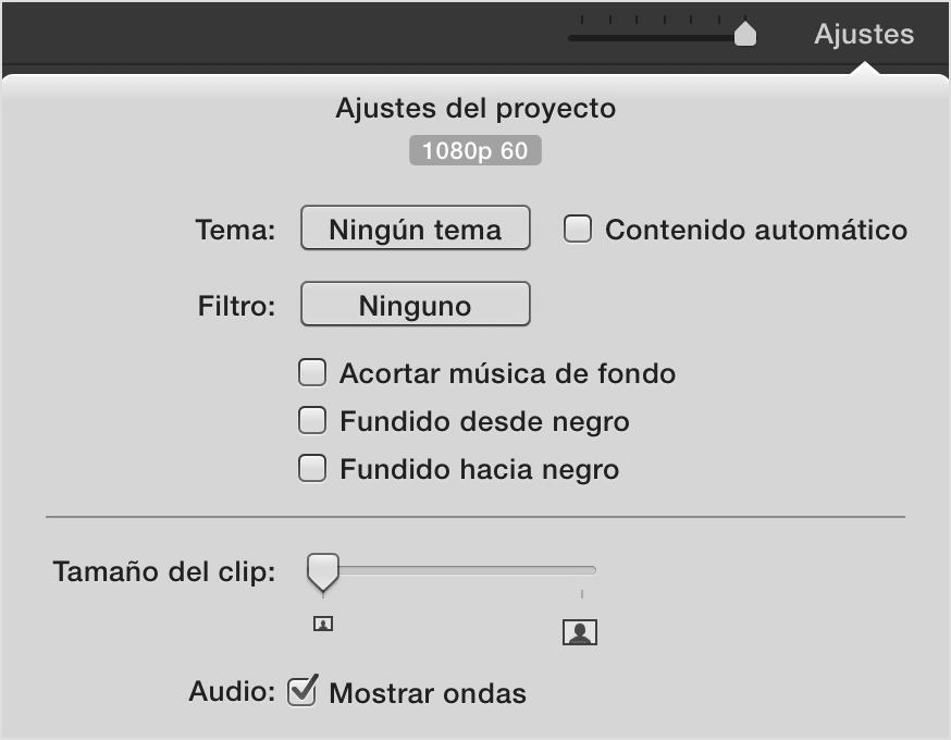 Editar y compartir vídeo a 60 fotogramas por segundo en iMovie ...