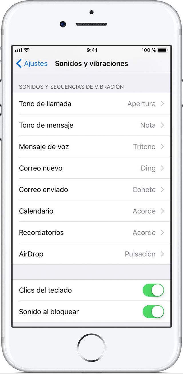 Utilizar tonos y tonos de llamada en el iPhone, el iPad o el iPod ...