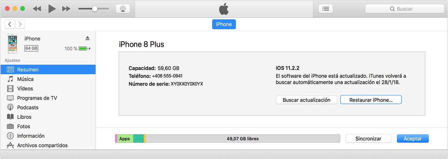4e88b376146 Una vez que la sincronización y la copia de seguridad hayan finalizado, haz  clic en Restaurar [dispositivo].