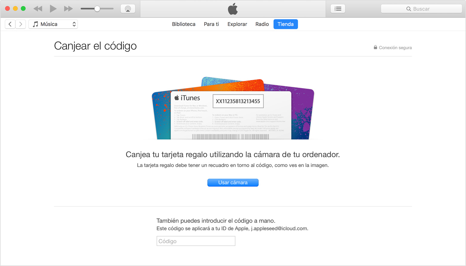 Tarjeta Regalo Apple Codigos