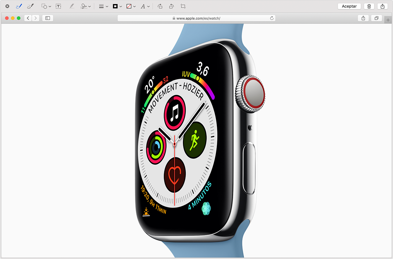 como hacer un screen shot con mac