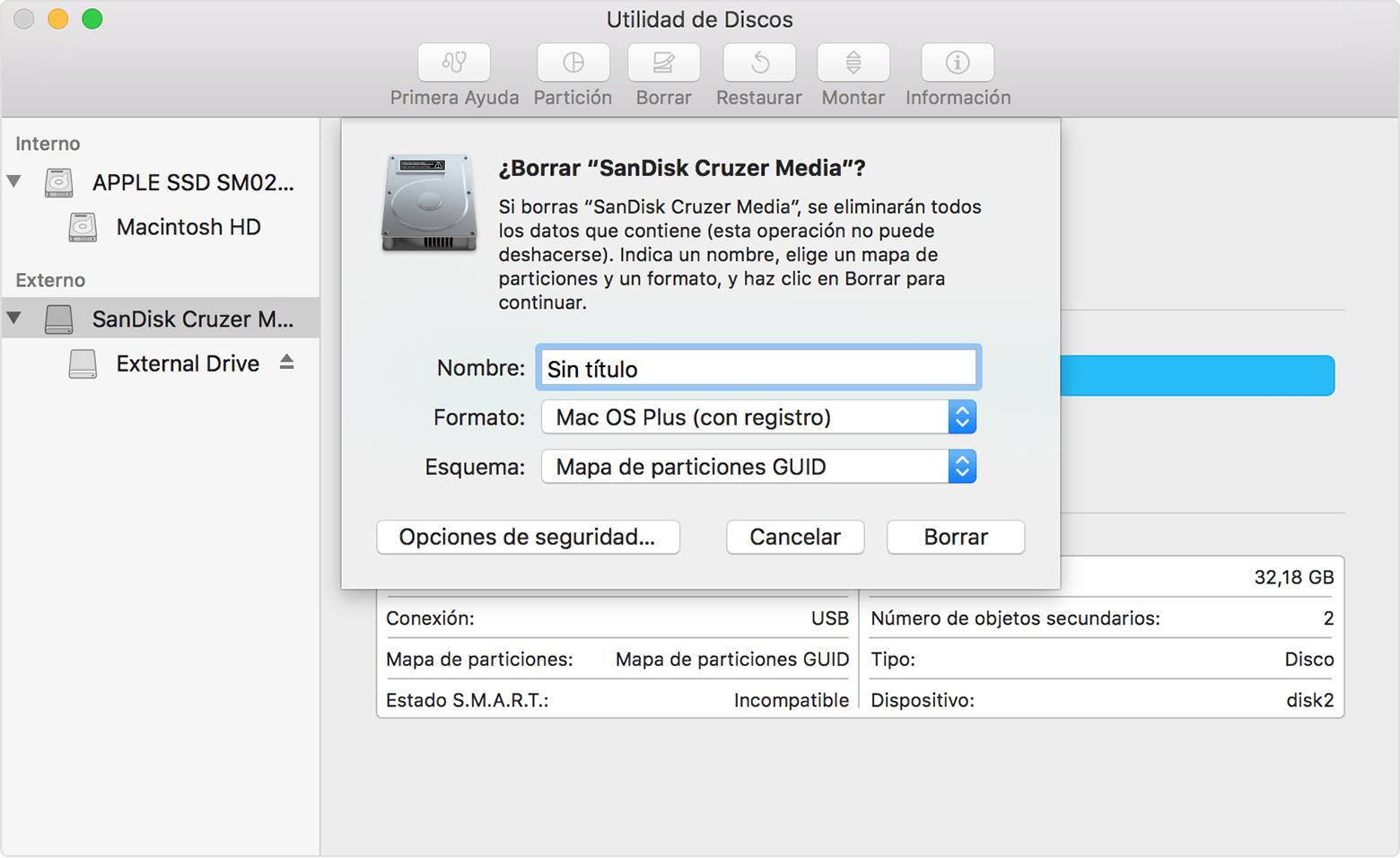 Resultado de imagen para configuración unidades mac