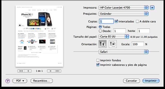 Image result for imprimir una imagen en MAC