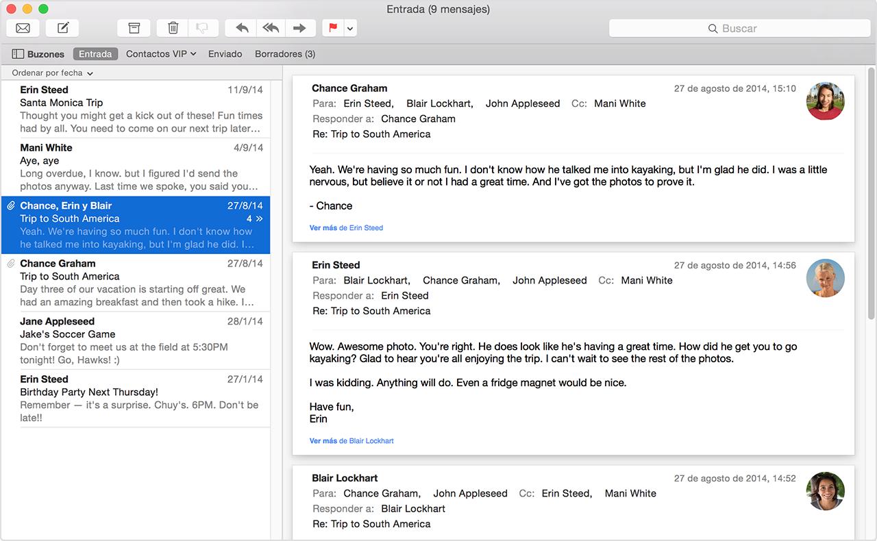 Uso de Mail en el Mac - Soporte técnico de Apple