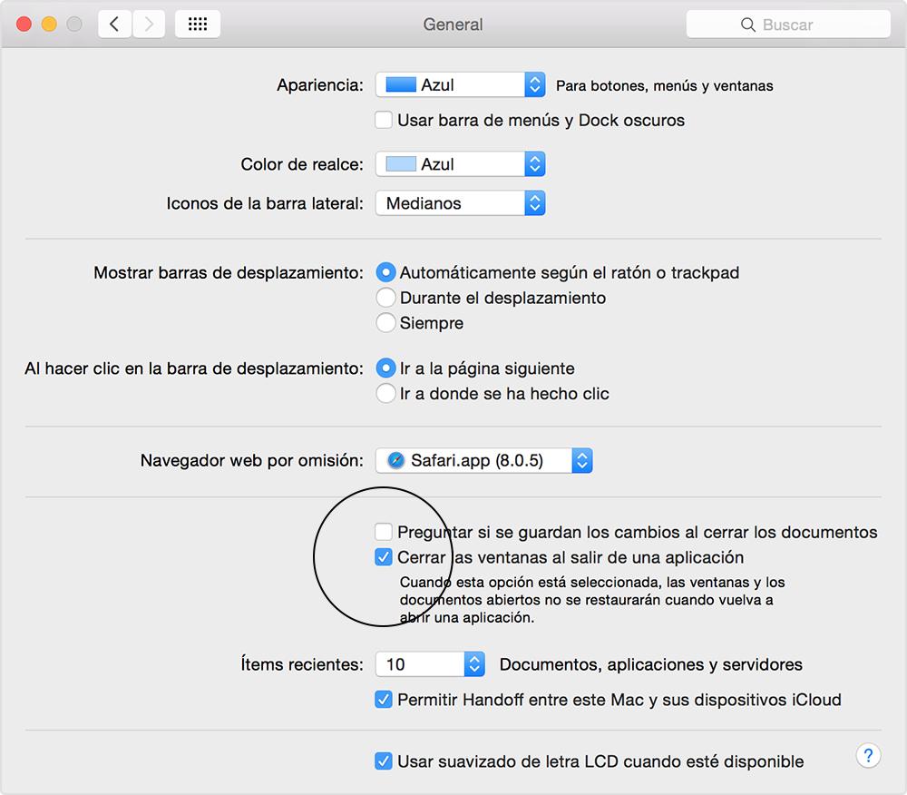 Volver a abrir automáticamente ventanas, apps y documentos en tu Mac ...