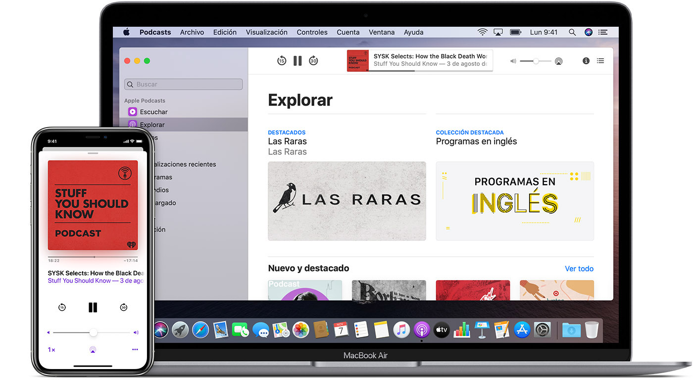 Escuchar Con Apple Podcasts Soporte Teacutecnico De Apple