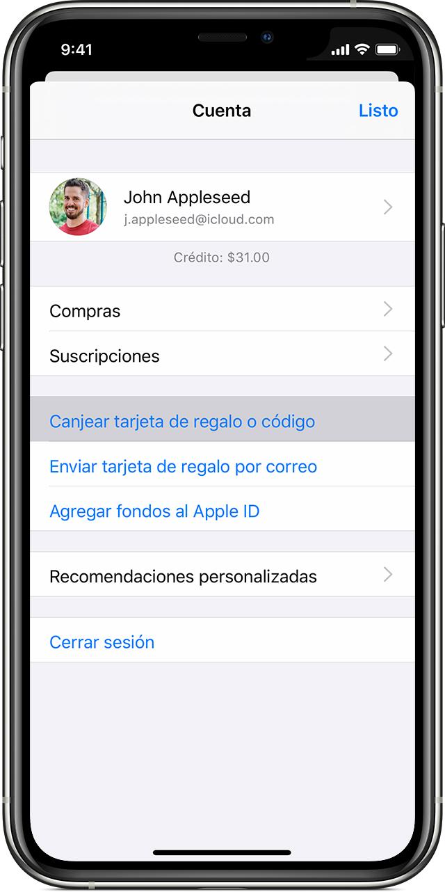 Canjear Codigos De Contenido Y Tarjetas App Store Y Itunes Soporte T Eacute Cnico De Apple
