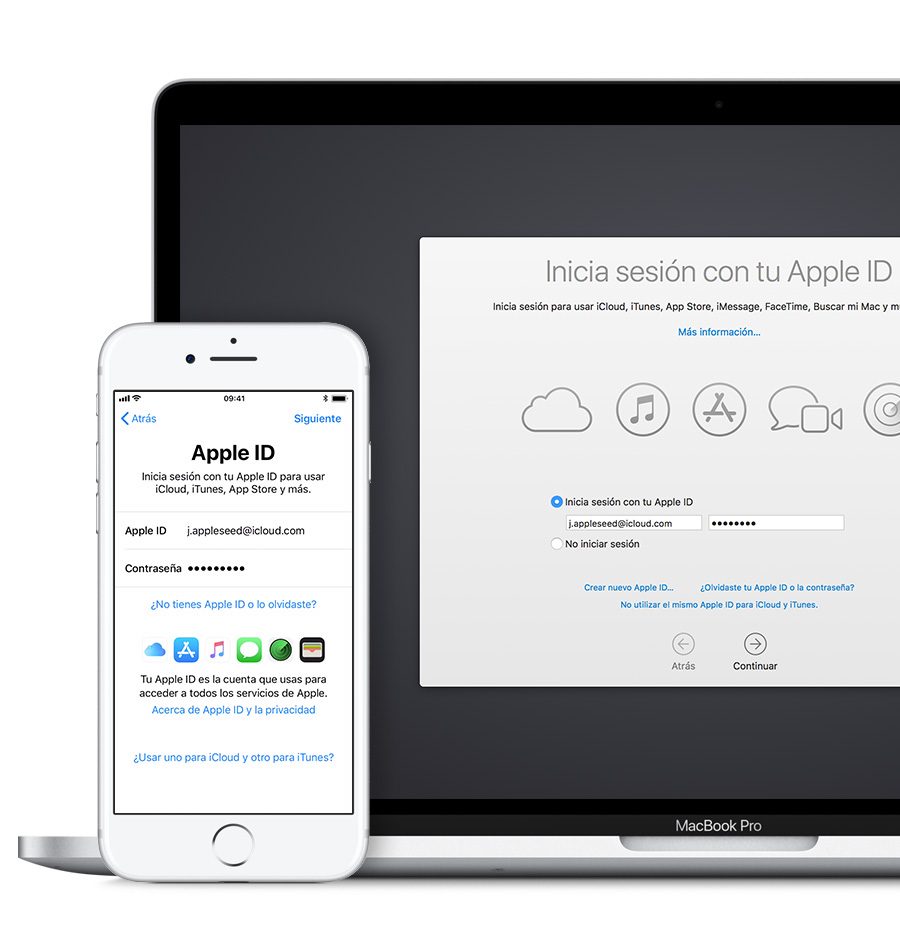 Iniciar sesión con tu Apple ID - Soporte técnico de Apple