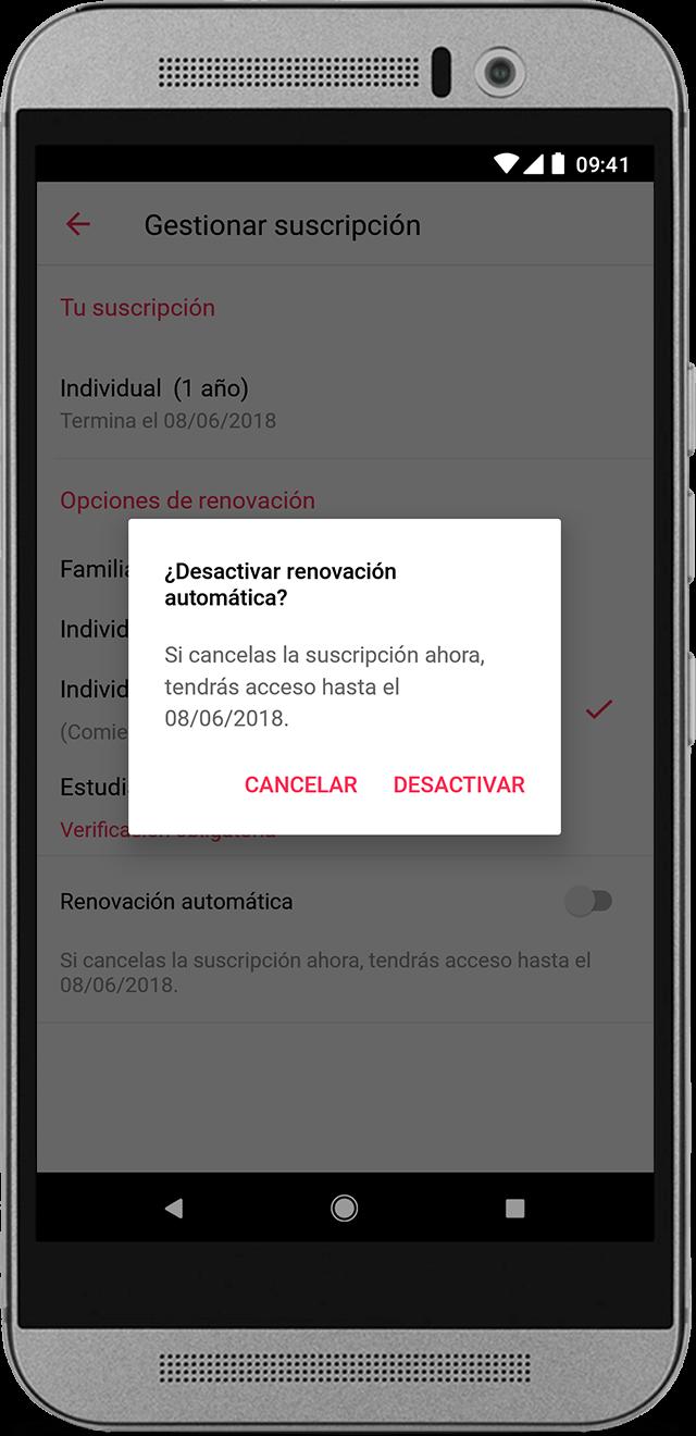 Administrar la suscripción a Apple Music con un teléfono Android ...