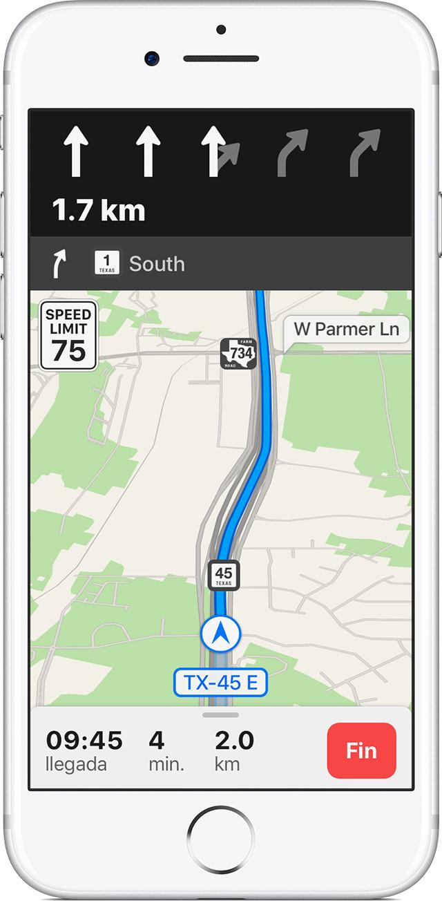 Usar Mapas en un iPhone, iPad o iPod touch - Soporte técnico de Apple