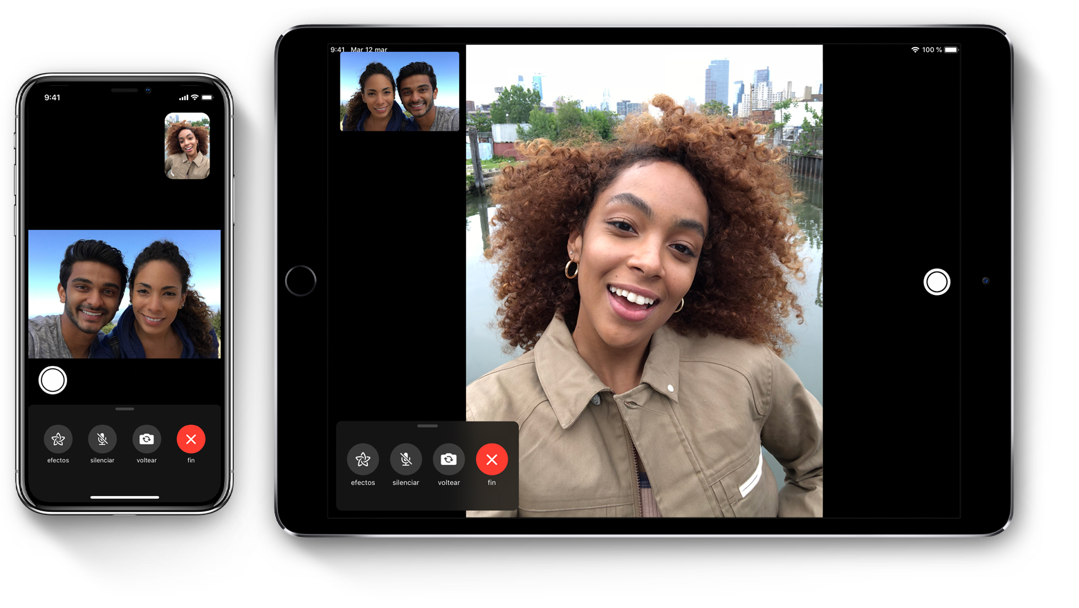 c2c17c6175b Usar FaceTime con el iPhone, iPad o iPod touch - Soporte técnico de  Apple