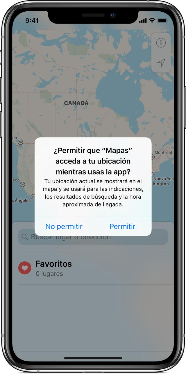 ed586a9669d Algunas apps solicitarán el uso de tu ubicación solo mientras estén