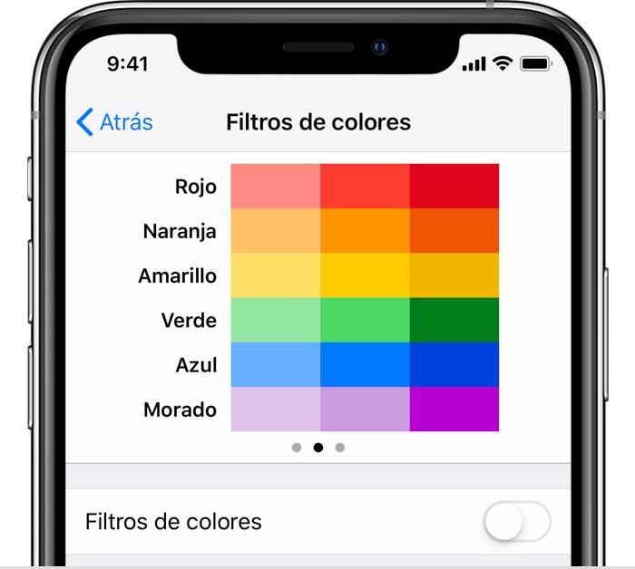 Filtro rojo para fotos app