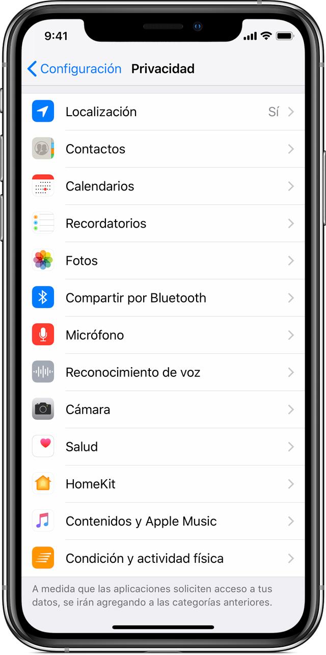 e29f22ada94 Acerca de la privacidad y la función Localización en iOS 8 y ...
