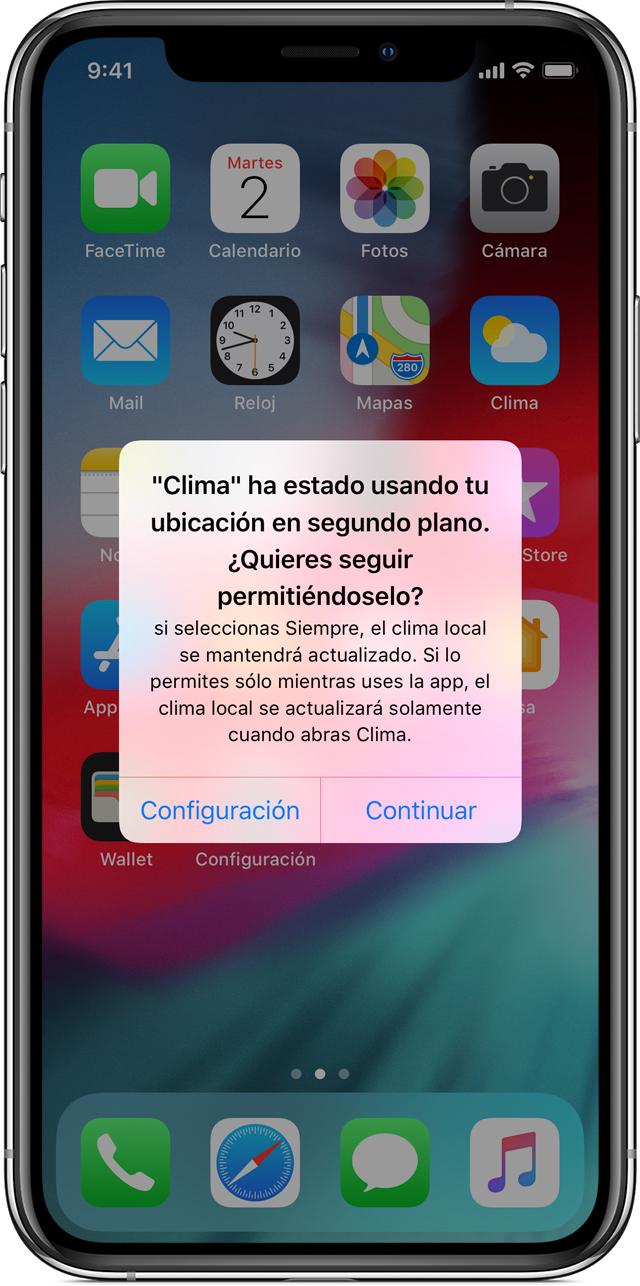 d45809e18b4 Cuando permites que una app utilice siempre la ubicación, iOS te recordará  qué apps pueden utilizar la ubicación después de que una app use la  ubicación en ...