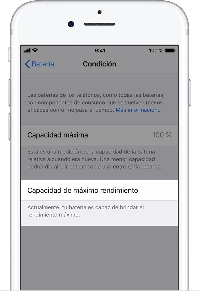 df087b7668de9 Batería y rendimiento del iPhone - Soporte técnico de Apple