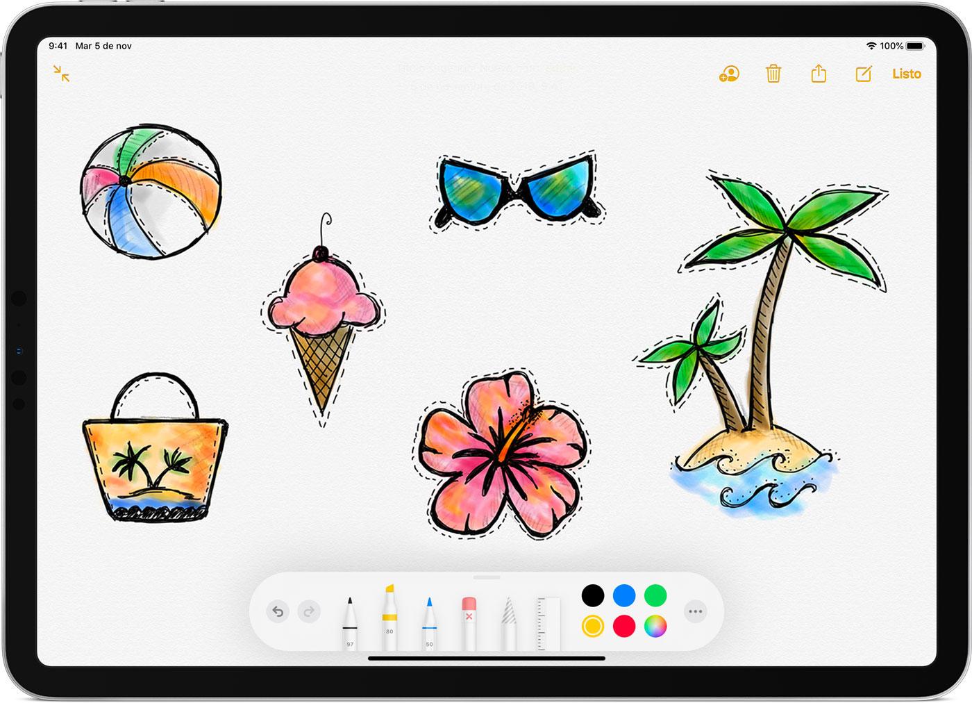 Usar Apple Pencil con tu iPad o iPad Pro - Soporte té