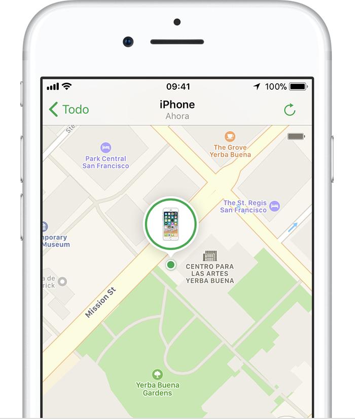 como localizar el iphone