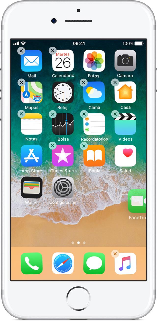 Cómo mover apps y crear carpetas en el iPhone, iPad o iPod touch ...