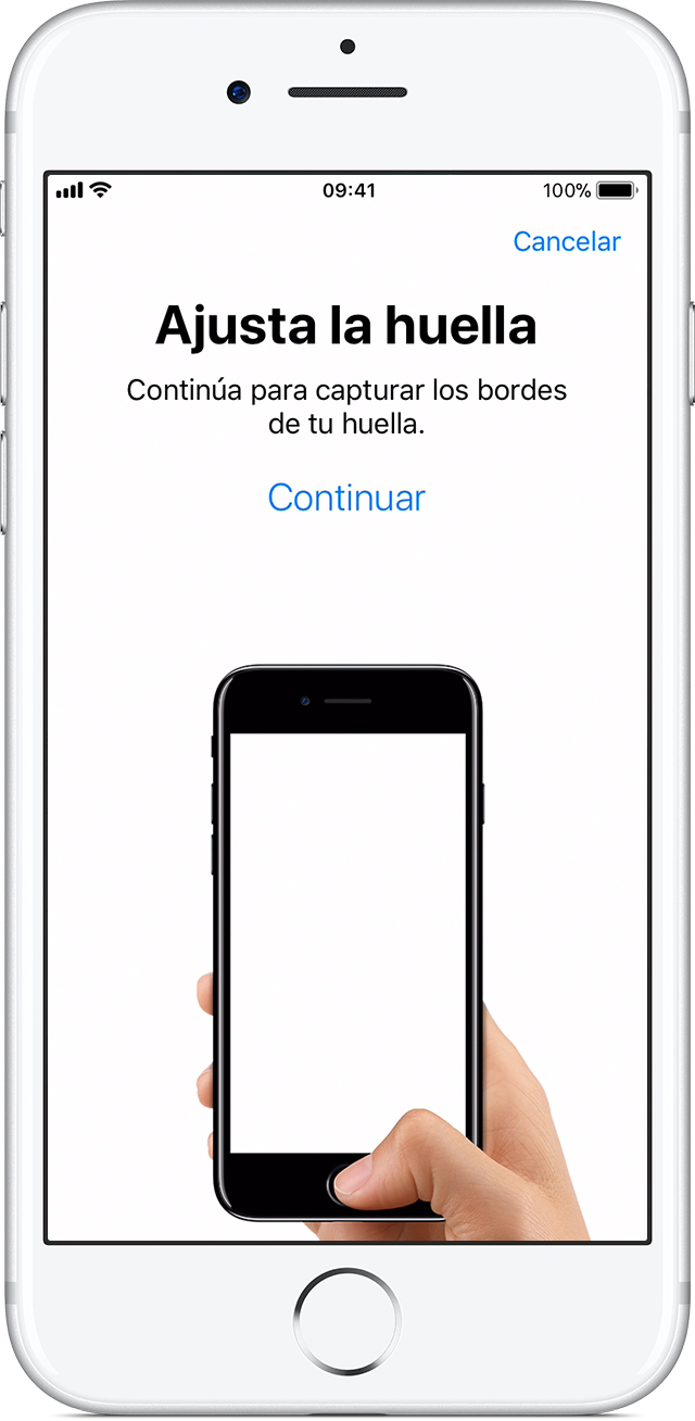 Usar Touch ID en iPhone y iPad - Soporte técnico de Apple