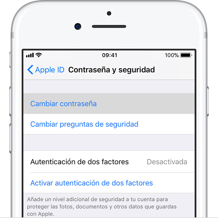how to change email password on iphone cambiar la contrase 241 a de tu apple id soporte t 233 cnico de 4941
