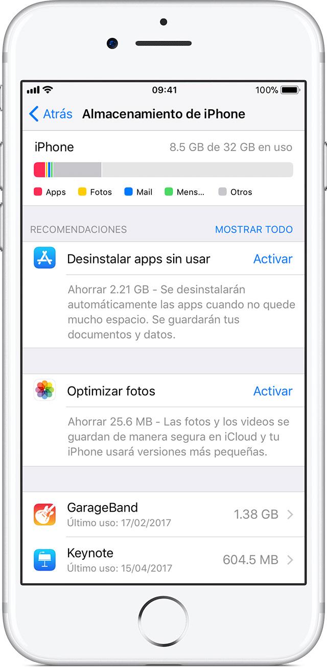 Cómo verificar el almacenamiento del iPhone, iPad y iPod touch ...