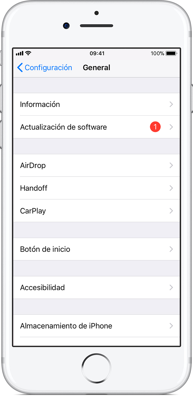 Actualizar el iPhone, iPad o iPod touch - Soporte técnico de Apple