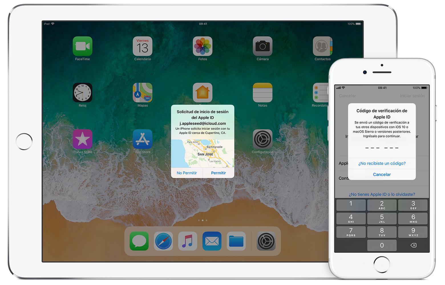Autenticación de dos factores para Apple ID - Soporte técnico de Apple