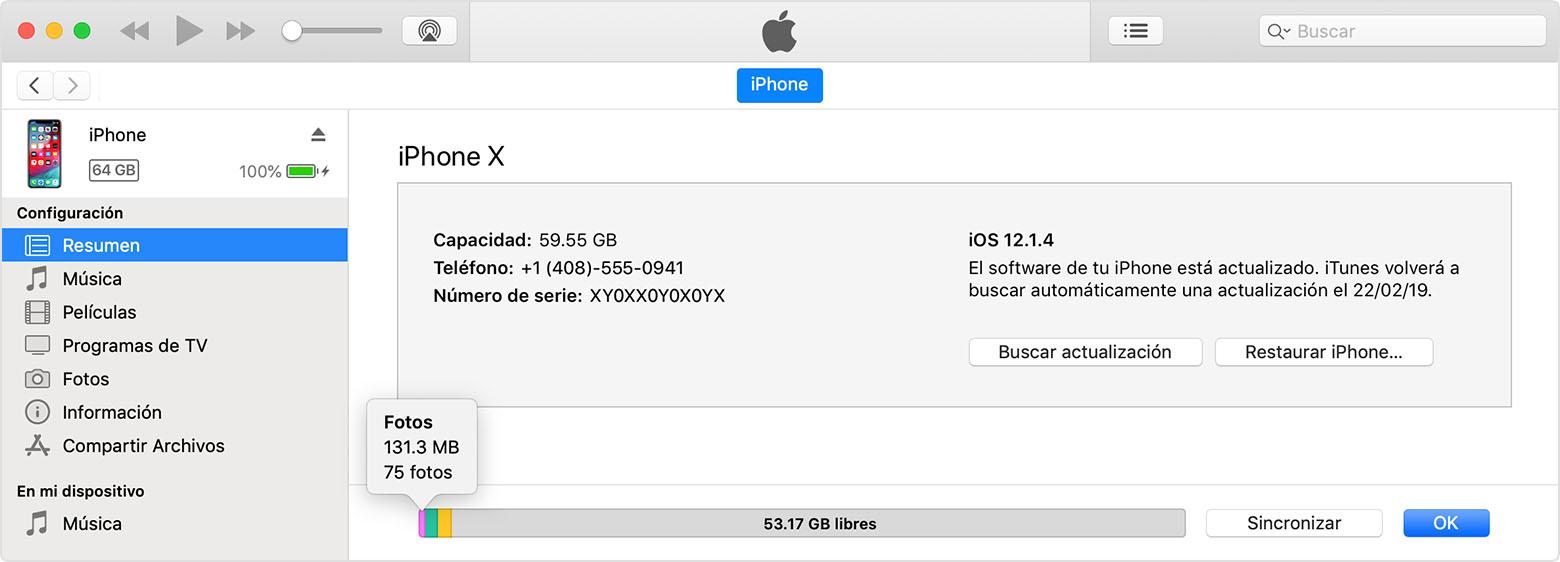 controllare itunes mac da iphone
