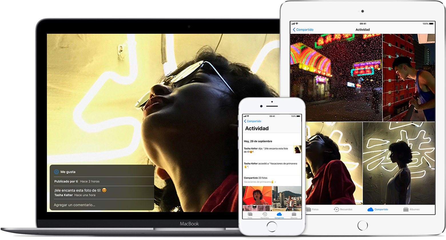 Compartir fotos de iCloud - Soporte técnico de Apple