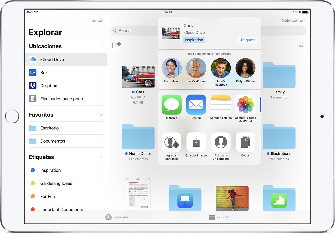 Usar la app Archivos en el iPhone, iPad y iPod touch - Soporte ...