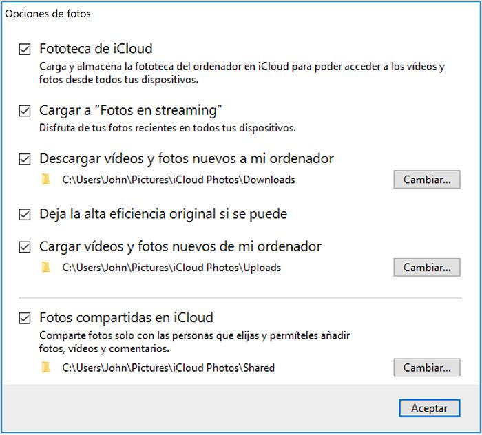 Cómo Configurar Y Usar Fotos De Icloud En Una Pc Con Windows