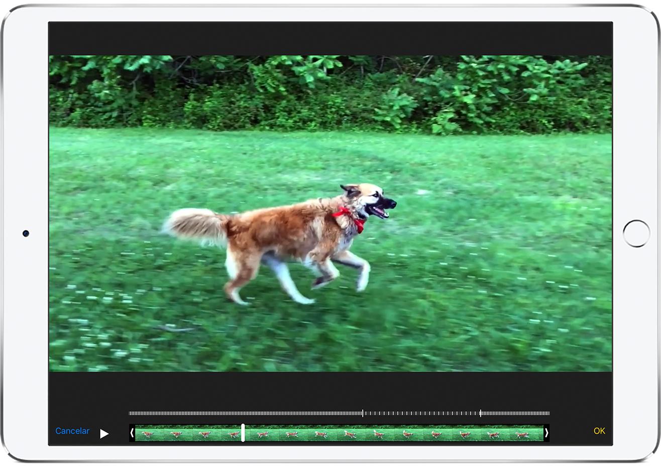 Cómo editar los videos en el iPhone, iPad, iPod touch o la Mac ...