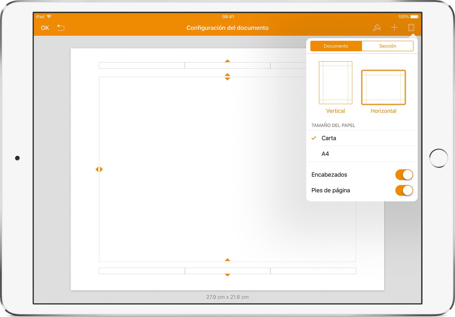 Configurar Un Documento En Pages Soporte T 233 Cnico De Apple