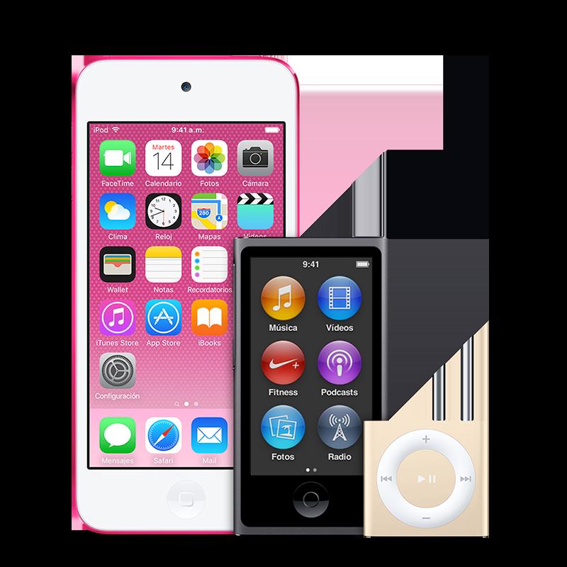 iPod Reparación - Soporte técnico oficial de Apple