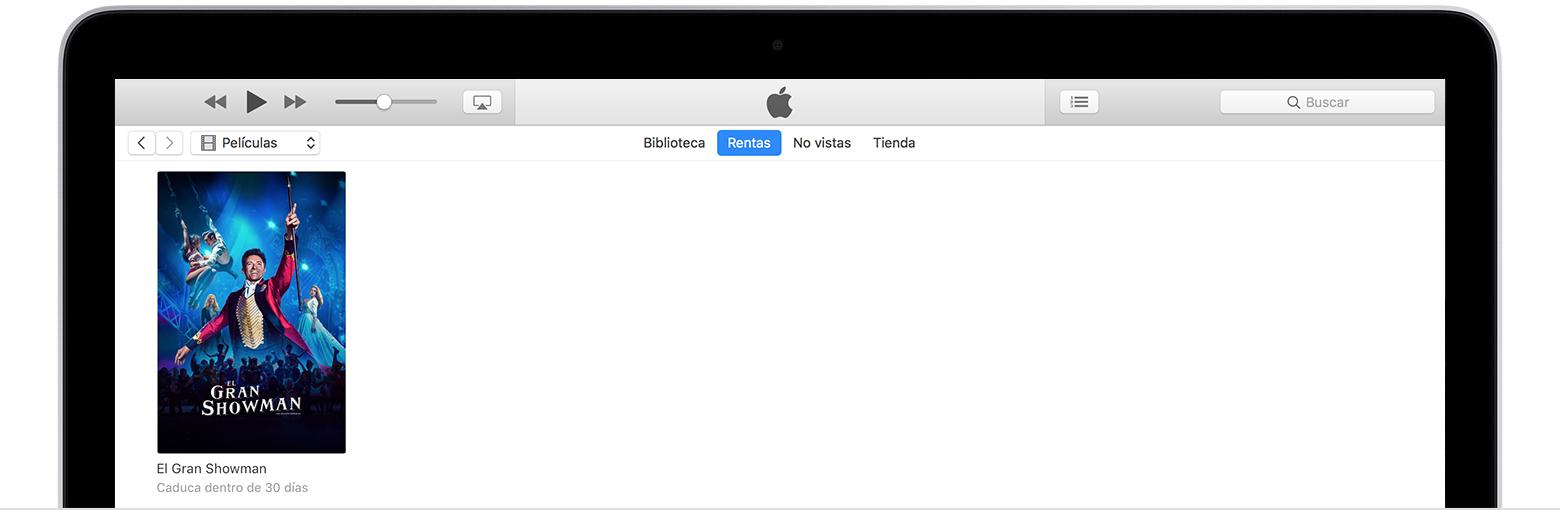 Rentar películas en iTunes Store - Soporte técnico de Apple