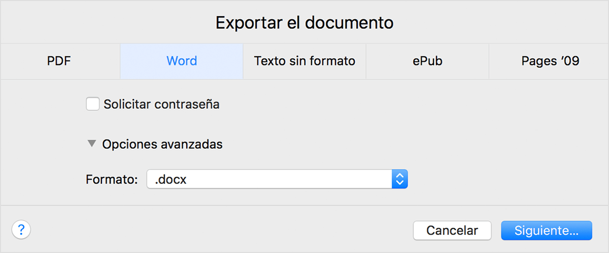 export specific pages from pdf mac