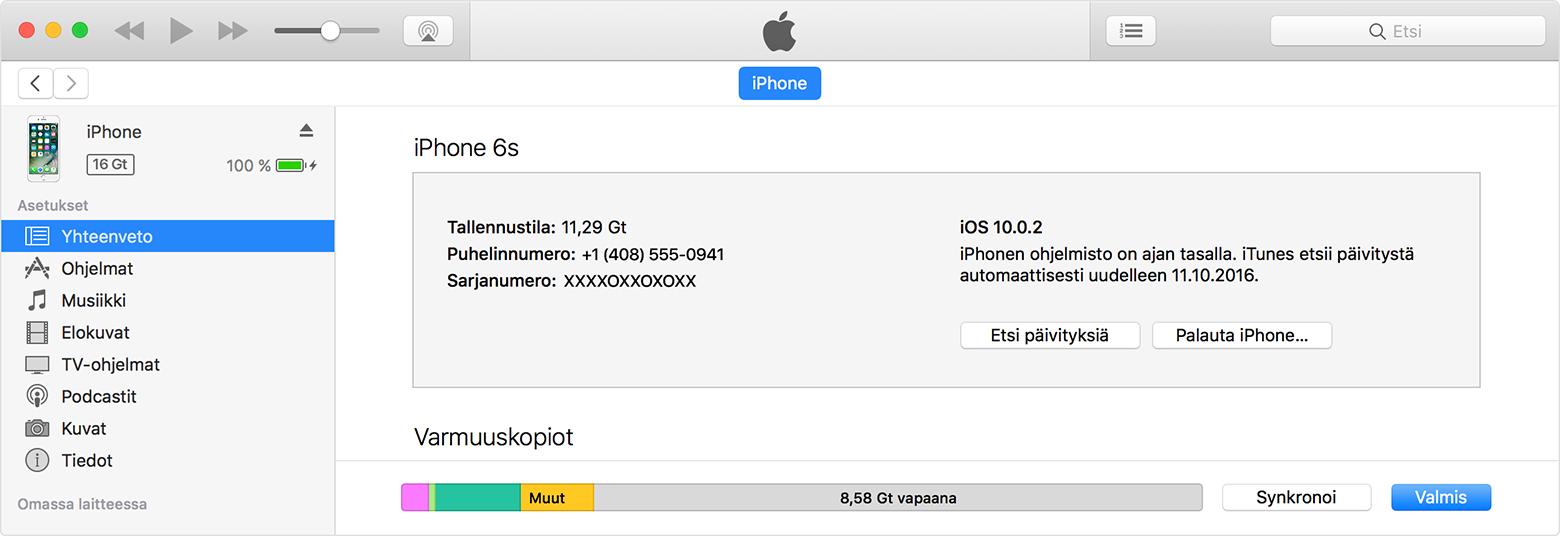 ICloud-tallennustilan hallinta - Apple-tuki DNA Mokkula 4G wlan E5372 DNA