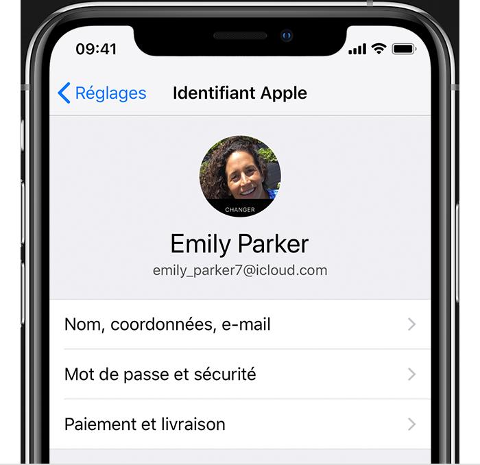 Utilisation De Votre Identifiant Apple Personnel Pour Le Partage