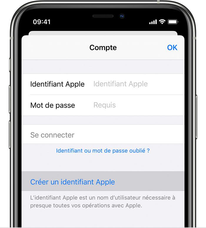 Comment Créer Un Identifiant Apple Assistance Apple