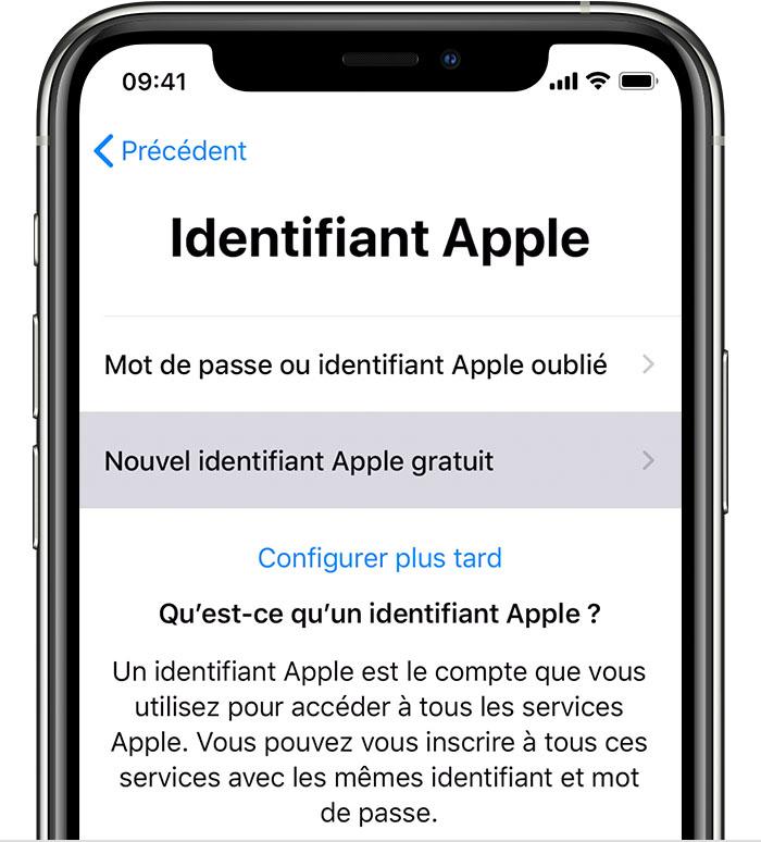 Comment Creer Un Identifiant Apple Assistance Apple
