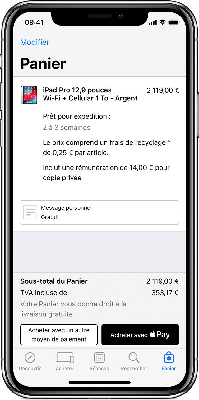 Carte Cdiscount Apple Pay.Utilisation D Apple Pay En Magasin Au Sein D Apps Et Sur Le Web