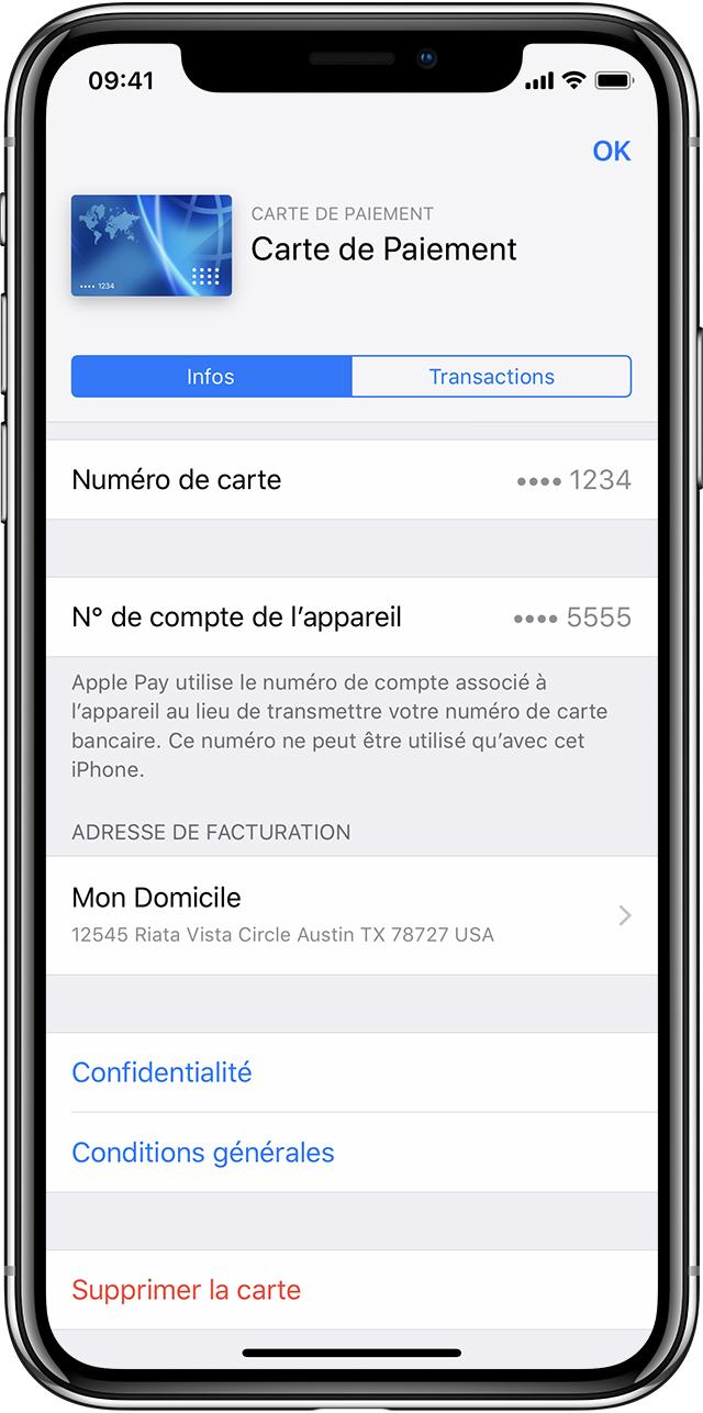 A Propos Du Service Apple Pay Assistance Apple
