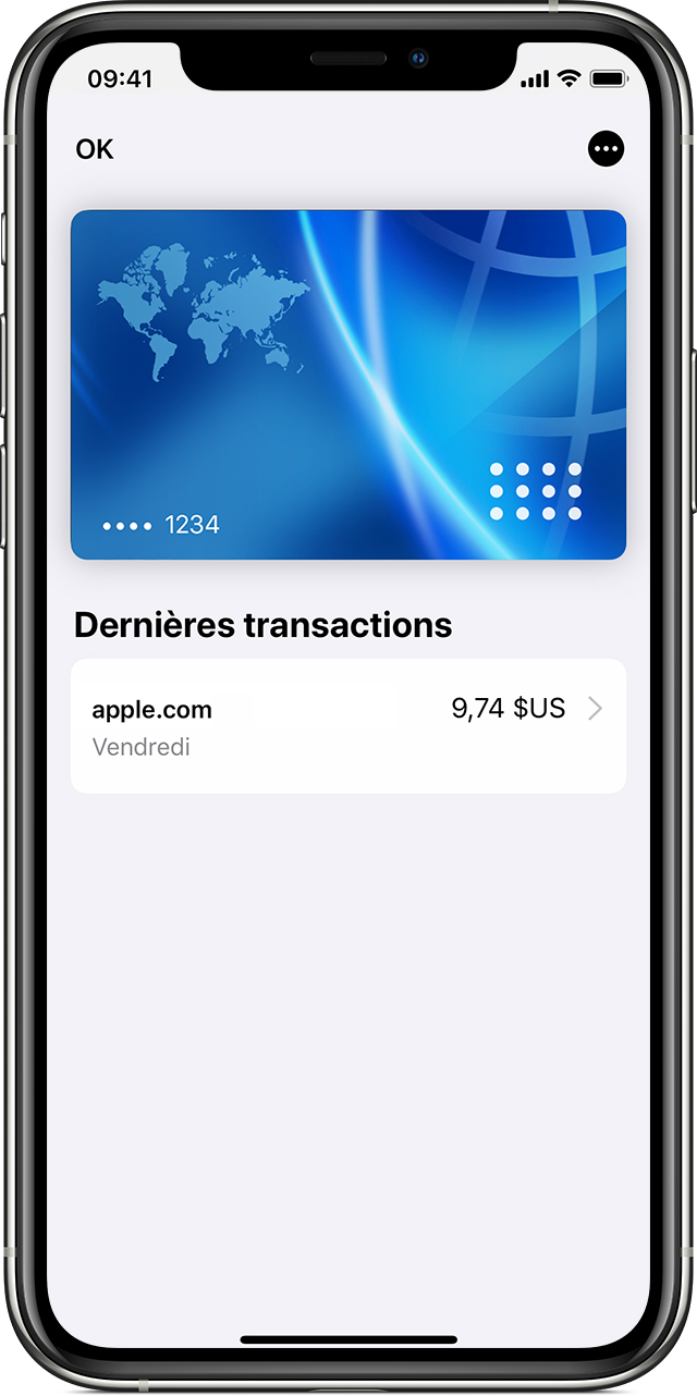 Comment consulter vos transactions Apple Pay