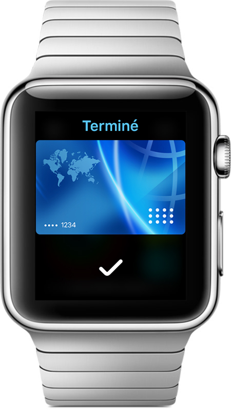 Comment utiliser Apple Pay sur une Apple Watch