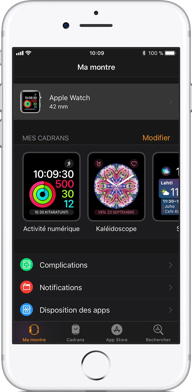 App Apple Watch